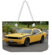2012 Dodge Challenger Rt Clark Weekender Tote Bag