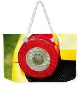 2012 Ferrari 458 Spider Brake Light Weekender Tote Bag