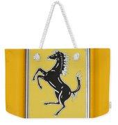 2012 Ferrari Hood Emblem Weekender Tote Bag