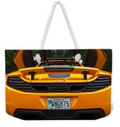 2012 Mc Laren Exhausts And Taillights Weekender Tote Bag