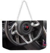 2012 Mc Laren Steering Wheel Weekender Tote Bag