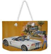 2013 Chevrolet Corvette Weekender Tote Bag