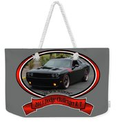2013 Dodge Challenger Rt Wheeler Weekender Tote Bag