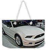 2013 Ford Mustang No 1 Weekender Tote Bag