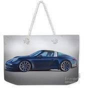 2014 Porsche 911 Targa 4s 'studio' Weekender Tote Bag