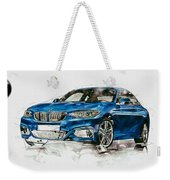2014 B M W 2 Series Coupe With 3d Badge Weekender Tote Bag