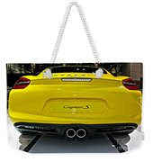 2014 Porsche Cayman S Number 2 Weekender Tote Bag