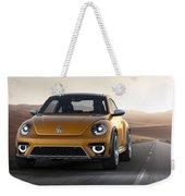 2014 Volkswagen Beetle Dune Concept Weekender Tote Bag