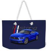 2015 Blue Mustang Weekender Tote Bag