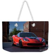 2015 Corvette Stingray  Weekender Tote Bag