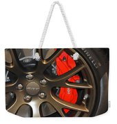 2015 Dodge Challenger Srt Hellcat Wheel Weekender Tote Bag