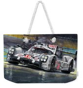 2015 Le Mans 24 Lmp1 Winner Porsche 919 Hybrid Bamber Tandy Hulkenberg Weekender Tote Bag