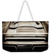 2015 Mclaren 650s Spider Rear Emblem -0011s Weekender Tote Bag
