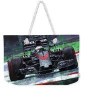 2015 Mclaren Honda F1 Austrian Gp Alonso  Weekender Tote Bag