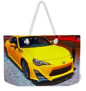 2015 Scion Fr-s Number 2 Weekender Tote Bag