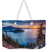 2015 Spring Sunrise From Discovery Point Weekender Tote Bag