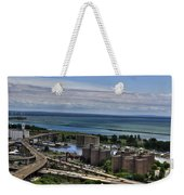 2015 View Of The Skyway And Harbor Weekender Tote Bag