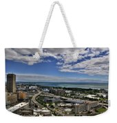 2015 View Of The Skyway  Weekender Tote Bag