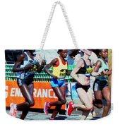 2016 Boston Marathon Winner 2 Weekender Tote Bag