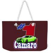 2016 Camaro Weekender Tote Bag
