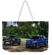 2016 Chevrolet Colorado Midnight Edition Trail Boss Weekender Tote Bag