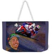 2016 Fim Superbike Nicky Hayden Weekender Tote Bag