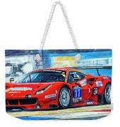 2016 Hankook 24h Epilog Brno Ferrari 488 Gt3 Winner Weekender Tote Bag