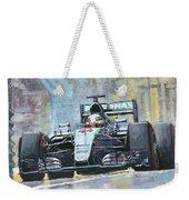 2016 Monaco Gp Mercedes Amg Petronas Hamilton  Weekender Tote Bag