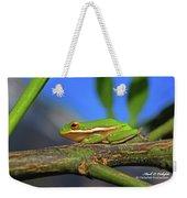 2017 11 04 Frog I Weekender Tote Bag