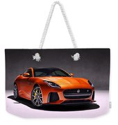 2017 Jaguar F Type Weekender Tote Bag