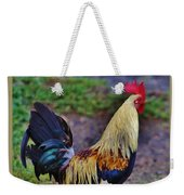2017 Rooster Weekender Tote Bag