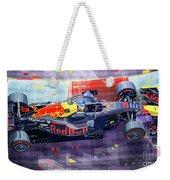 2017 Singapore Gp Red Bull Racing Ricciardo Weekender Tote Bag
