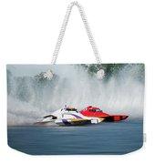 2017 Taree Race Boats 05 Weekender Tote Bag
