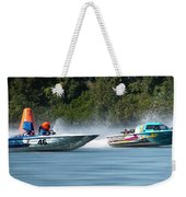 2017 Taree Race Boats 08 Weekender Tote Bag