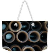 2017_05_midland Tx_drill Pipe Lights 2 Weekender Tote Bag