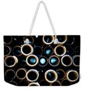 2017_05_midland Tx_drill Pipe Lights 3  Weekender Tote Bag