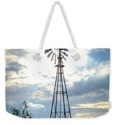 2017_08_midland Tx_windmill 2 Weekender Tote Bag