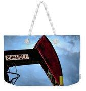 2017_09_midkiff Tx_oil Well Pump Jack Closeup 2 Weekender Tote Bag