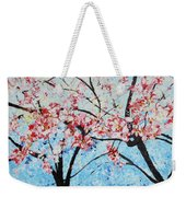 201726 Cherry Blossoms Weekender Tote Bag