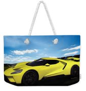 2018 Ford Gt At The Track Weekender Tote Bag