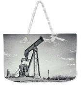 2018_04_orla Texas_broken Pump Jack 1 Weekender Tote Bag