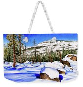 #202 Donner Summit Weekender Tote Bag