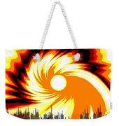 205 - Poster Climate Change  2 ... Burning Summer  Sun  Weekender Tote Bag