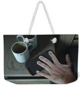 Bedside Table And Cellphone Weekender Tote Bag