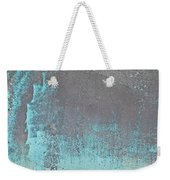 Blue Metal Weekender Tote Bag