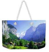 Show Landscape Weekender Tote Bag