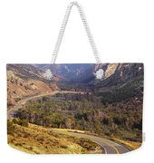 212308 Road To Sheep Creek Canyon Weekender Tote Bag