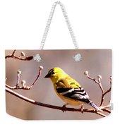 2164 - Goldfinch Weekender Tote Bag