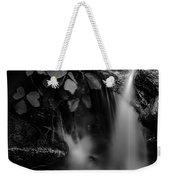 Broad River Flowing Through Wooded Forest Weekender Tote Bag