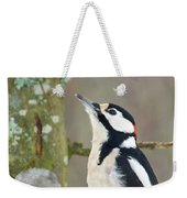 Great Spotted Woodpecker Weekender Tote Bag